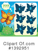 Royalty-Free (RF) Butterfly Clipart Illustration #1392951