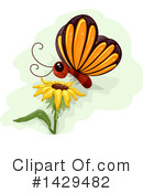 Royalty-Free (RF) Butterfly Clipart Illustration #1429482