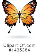 Butterfly Clipart #1435384 by cidepix