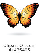 Butterfly Clipart #1435405 by cidepix