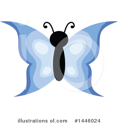 Butterfly Clipart #1446024 by visekart