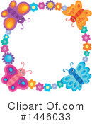 Royalty-Free (RF) Butterfly Clipart Illustration #1446033