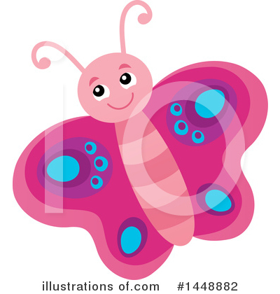 Butterfly Clipart #1448882 by visekart