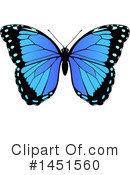 Royalty-Free (RF) Butterfly Clipart Illustration #1451560