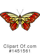 Royalty-Free (RF) Butterfly Clipart Illustration #1451561