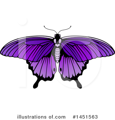 Moths Clipart #1451563 by AtStockIllustration