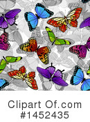Royalty-Free (RF) Butterfly Clipart Illustration #1452435