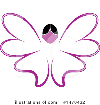 Butterfly Clipart #1470432 by Lal Perera