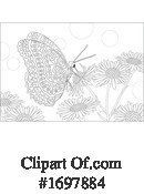 Butterfly Clipart #1697884 by Alex Bannykh