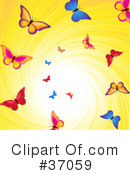 Butterfly Clipart #37059