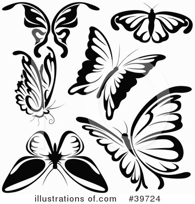 Butterfly Clipart #39724 by dero