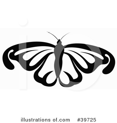 Butterfly Clipart #39725 by dero