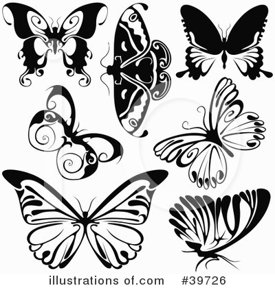 Butterfly Clipart #39726 by dero