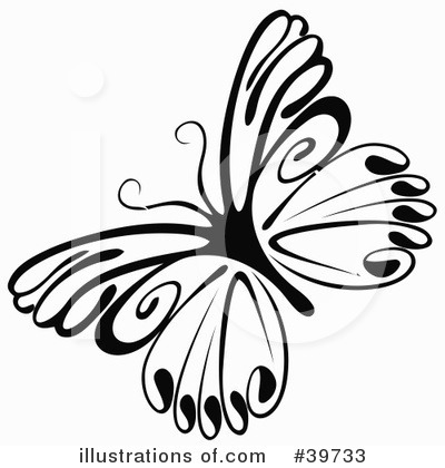 Butterfly Clipart #39733 by dero