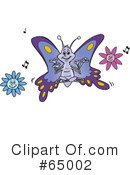 Butterfly Clipart #65002 by Dennis Holmes Designs