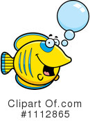 Royalty-Free (RF) Butterfly Fish Clipart Illustration #1112865