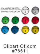 Buttons Clipart #76611 by MilsiArt