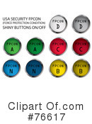 Buttons Clipart #76617 by MilsiArt