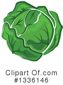 Cabbage Clipart #1336146 by Vector Tradition SM