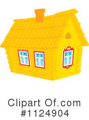 Royalty-Free (RF) Cabin Clipart Illustration #1124904
