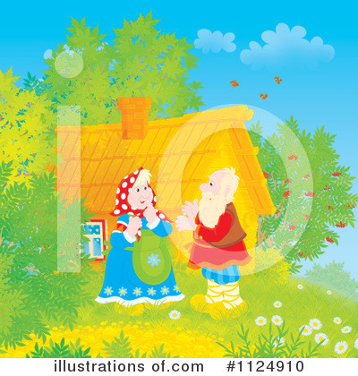 Couple Clipart #1124910 by Alex Bannykh