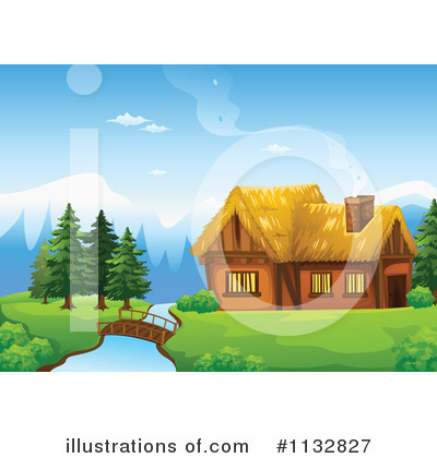 Cabin Clipart #1132827 by Graphics RF
