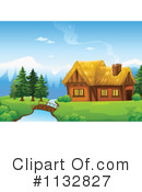Royalty-Free (RF) Cabin Clipart Illustration #1132827
