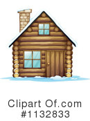 Royalty-Free (RF) Cabin Clipart Illustration #1132833