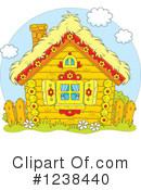 Royalty-Free (RF) Cabin Clipart Illustration #1238440