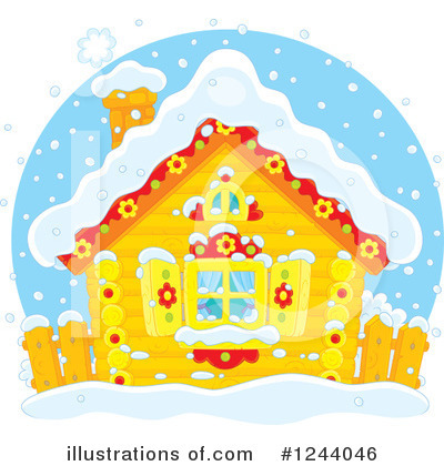 Winter Clipart #1244046 by Alex Bannykh