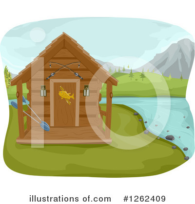 Cabin Clipart #1262409 by BNP Design Studio