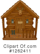 Royalty-Free (RF) Cabin Clipart Illustration #1262411
