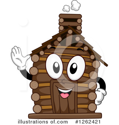 Cabin Clipart #1262421 by BNP Design Studio