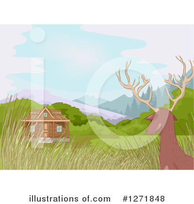 Cabin Clipart #1271848 by BNP Design Studio