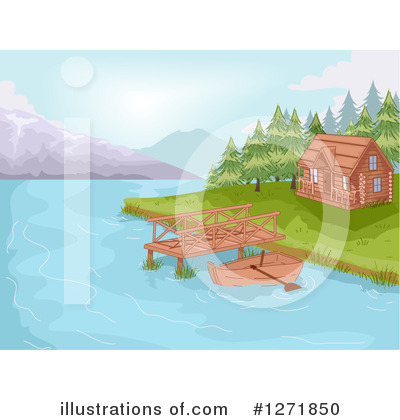 Cabin Clipart #1271850 by BNP Design Studio