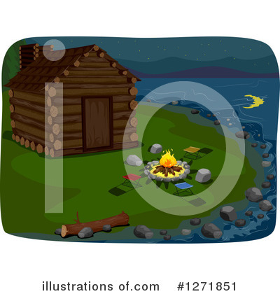 Cabin Clipart #1271851 by BNP Design Studio