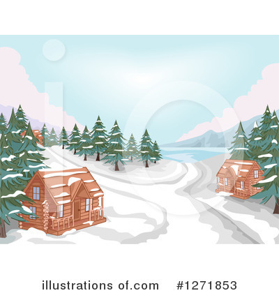 Cabin Clipart #1271853 by BNP Design Studio