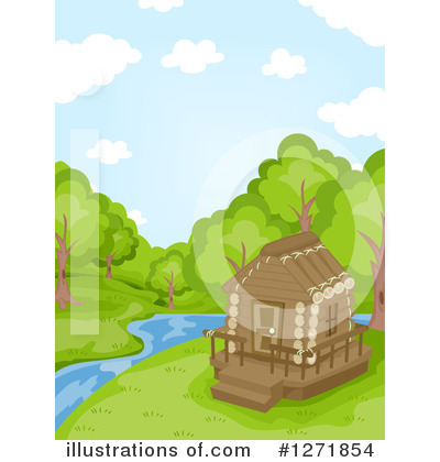 Cabin Clipart #1271854 by BNP Design Studio