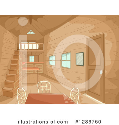 Cabin Clipart #1286760 by BNP Design Studio