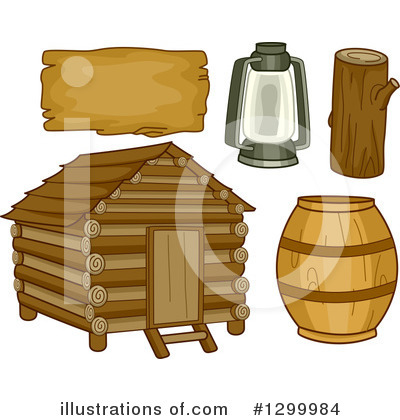 Cabin Clipart #1299984 by BNP Design Studio