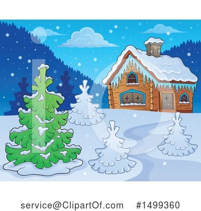 Snow Clipart #1499360 by visekart