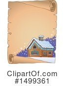 Royalty-Free (RF) Cabin Clipart Illustration #1499361