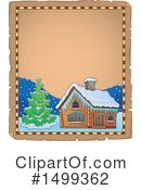 Royalty-Free (RF) Cabin Clipart Illustration #1499362