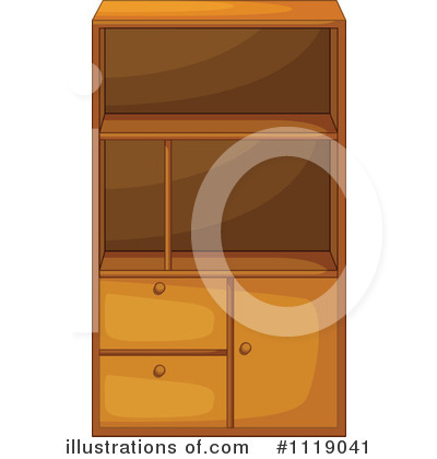 Cabinet Clipart #1119041 by Graphics RF