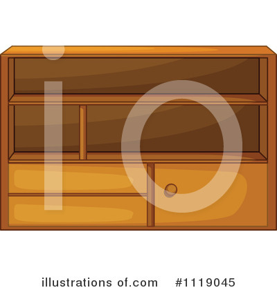 Cabinet Clipart #1119045 by Graphics RF