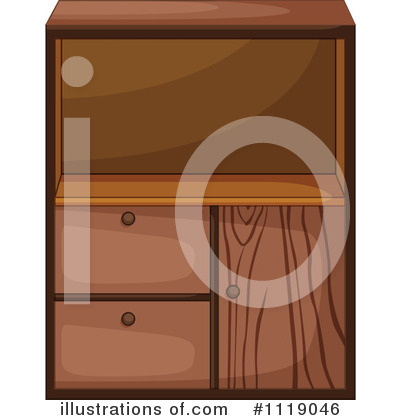 Cabinet Clipart #1119046 by Graphics RF