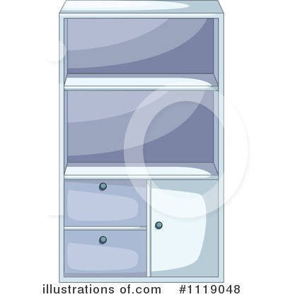Cabinet Clipart #1119048 by Graphics RF
