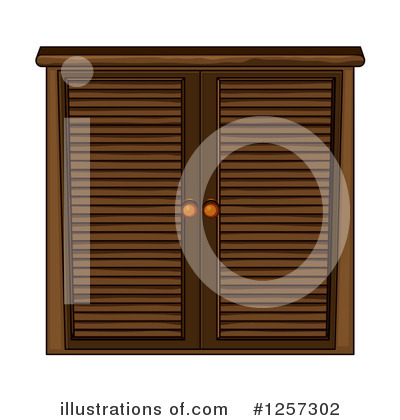 Cabinet Clipart #1257302 by Graphics RF