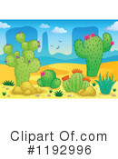 Royalty-Free (RF) Cactus Clipart Illustration #1192996