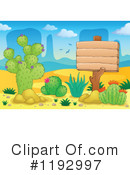 Royalty-Free (RF) Cactus Clipart Illustration #1192997